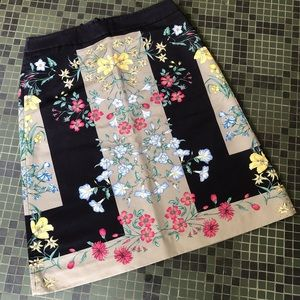 Anthropologie Moulinette Souers Floral Skirt 14